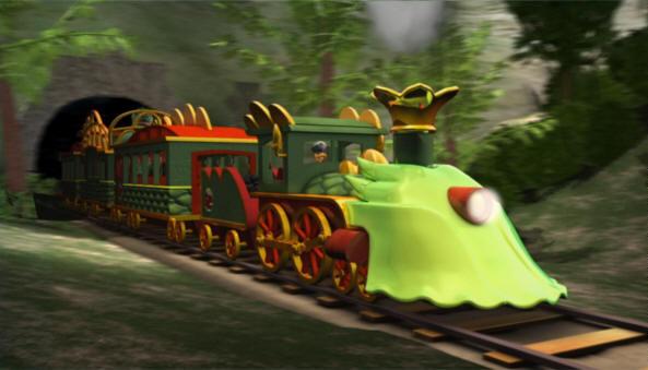 Amtrak Henson All Aboard Dinosaur Train Promo
