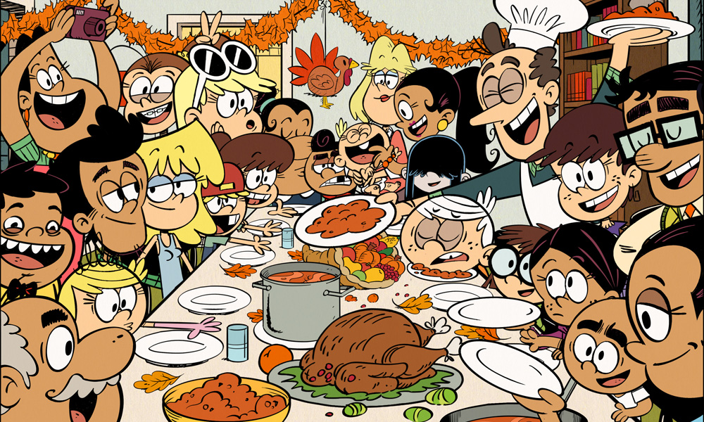 Image result for the loud house thanksgiving