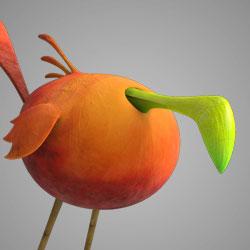 AM Rig Birdball Animation Characters