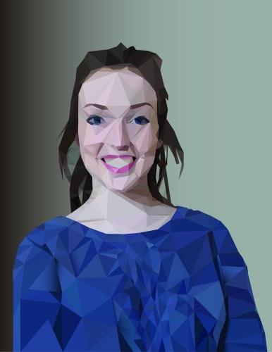 Emma Huber Portrait Illustration
