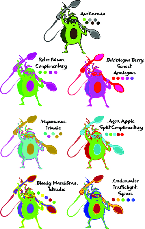Alex Richardson Color Concepts AvaKadro