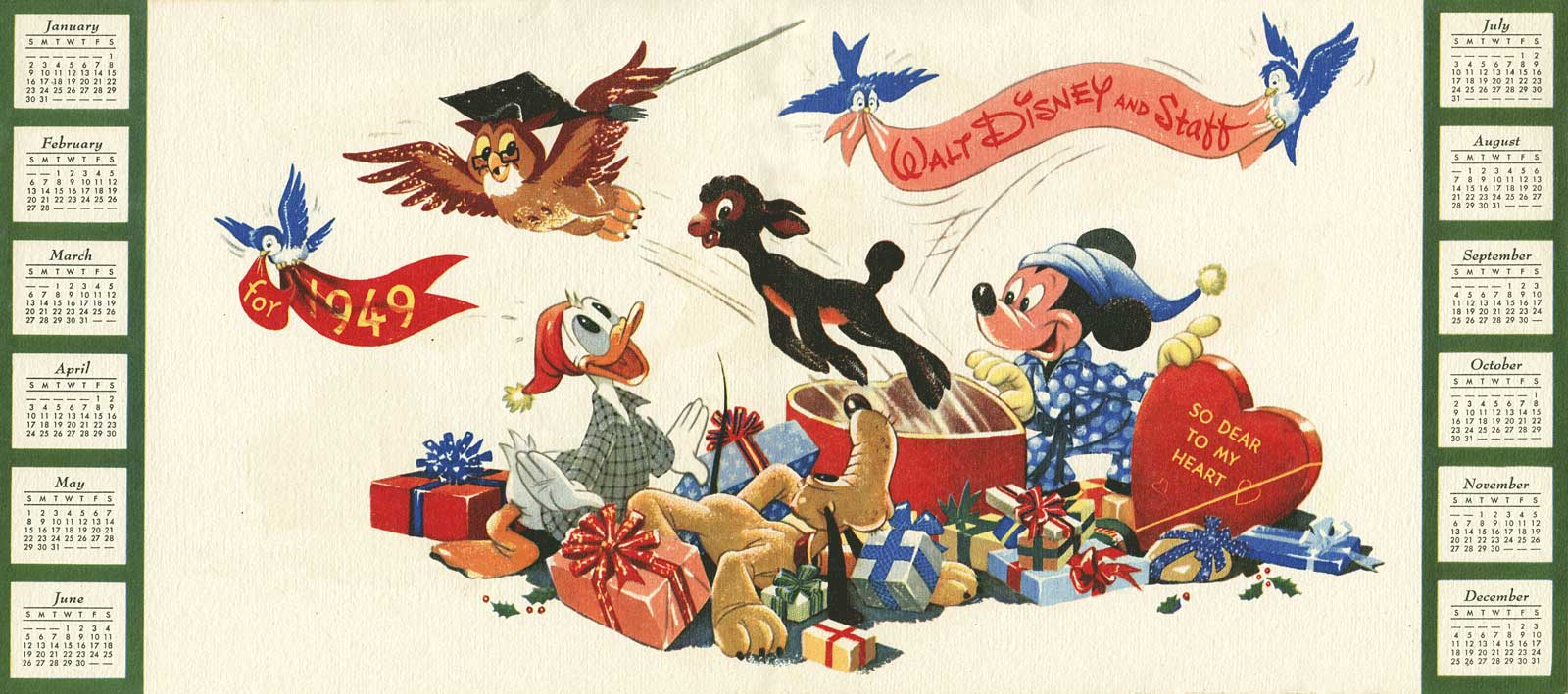 Illustration Disney Christmas Cards AnimationResources