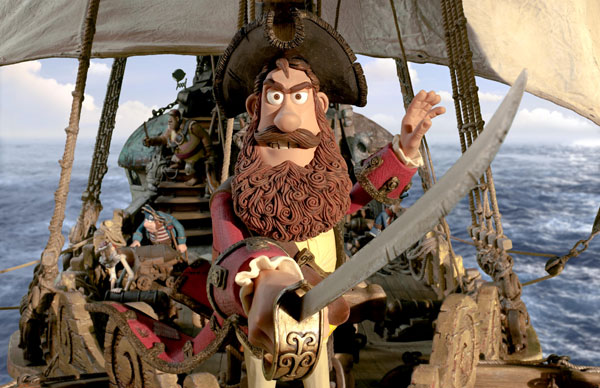 The Pirates! from Aardman Animations.