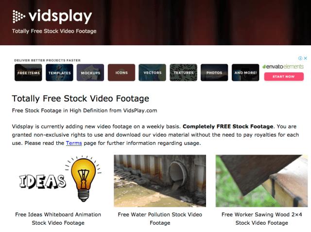 Fonds d'écran libres: Vidsplay