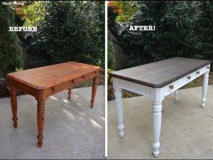 איך משדרגים שולחן עץ ישן לשולחן מודרני?