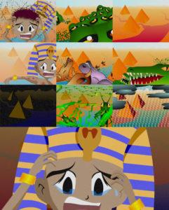 עשר מכות מצרים הגדה של פסח