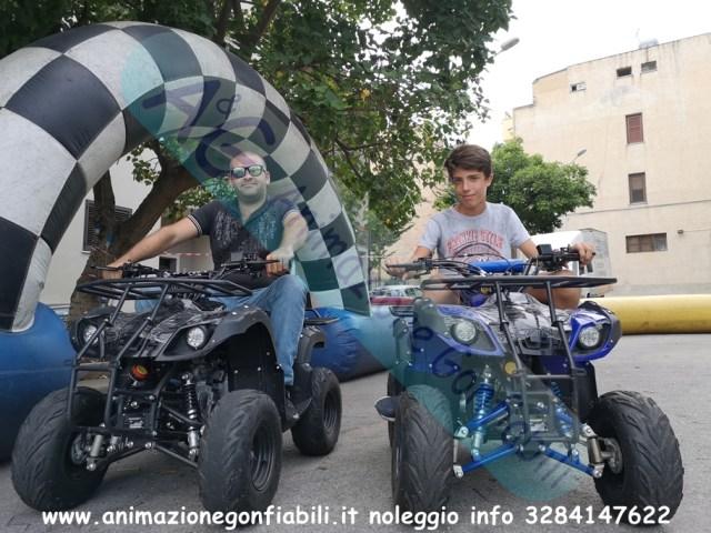 Noleggio quad 125 cc