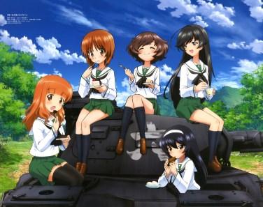 Girls und Panzer - Wallpaper
