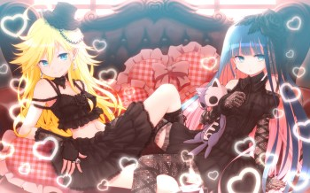 panty and stocking wallpaper 08