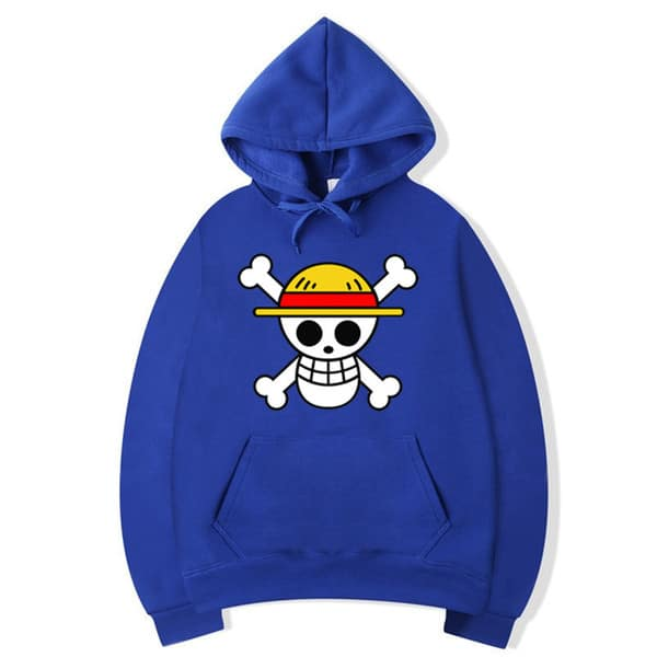 One Piece - Luffy Flag Skull Hoodie