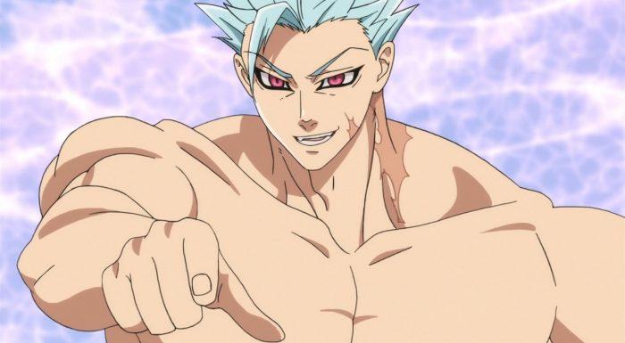 Ban rouba energia da plateia e fica bombadão (Nanatsu no Taizai Seisen no Shirushi - Episódio 02]