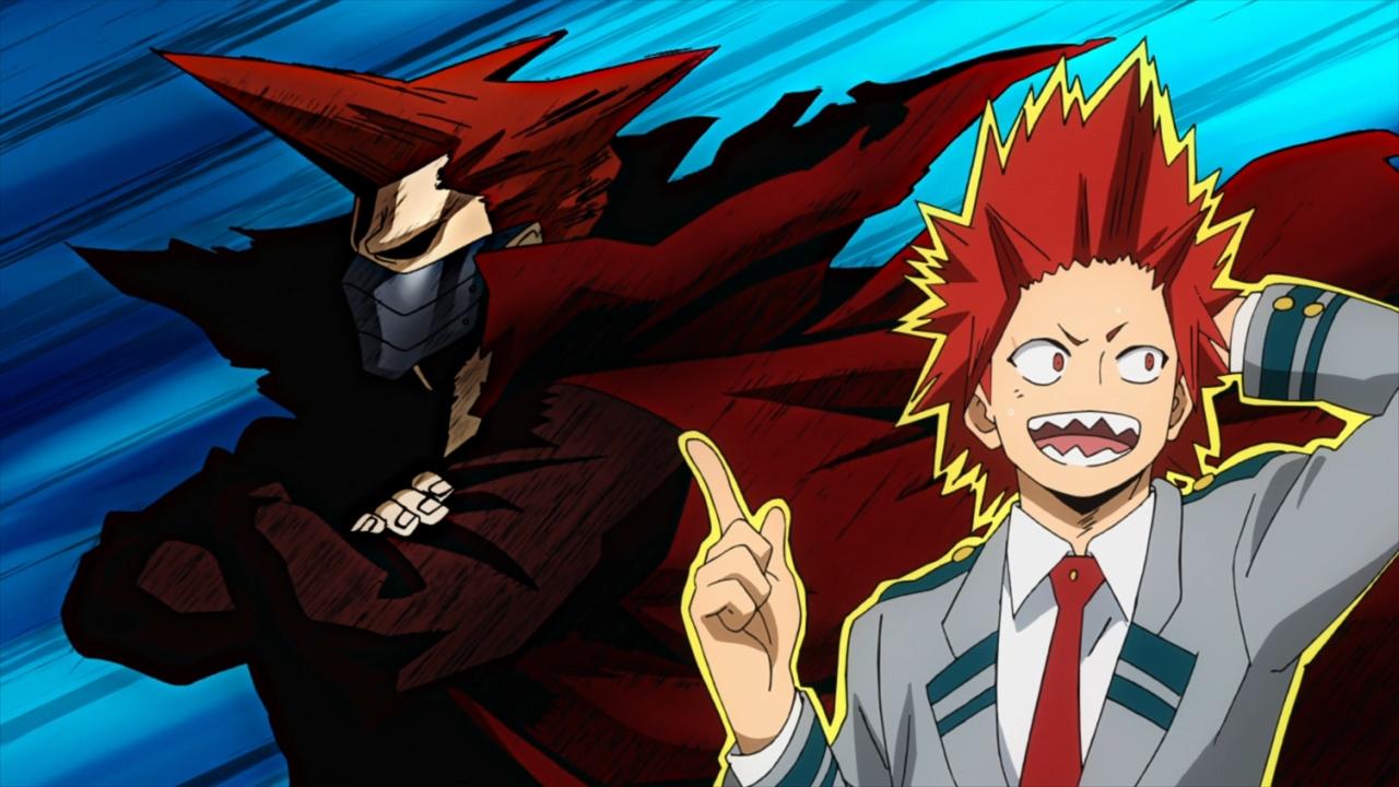 My hero academia wallpaper red riot. Boku no Hero Academia S2 - 13 - Anime Evo