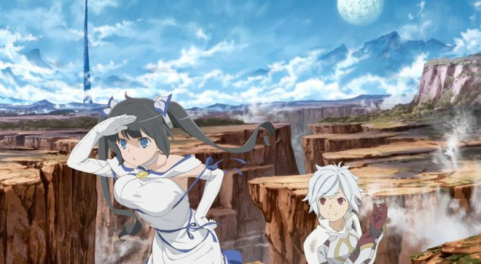 Is It Wrong To Try To Pick Up Girls In A Dungeon Season 2 . Danmachi Season 2 Coming Summer 2019 Anime Evo