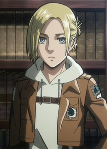 Characters Similar To Annie LEONHARDT Anime Planet