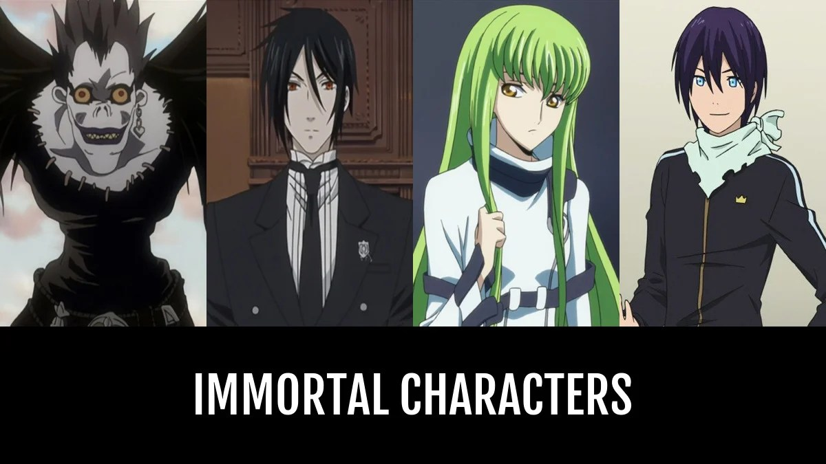 Best Immortal Characters Anime Planet