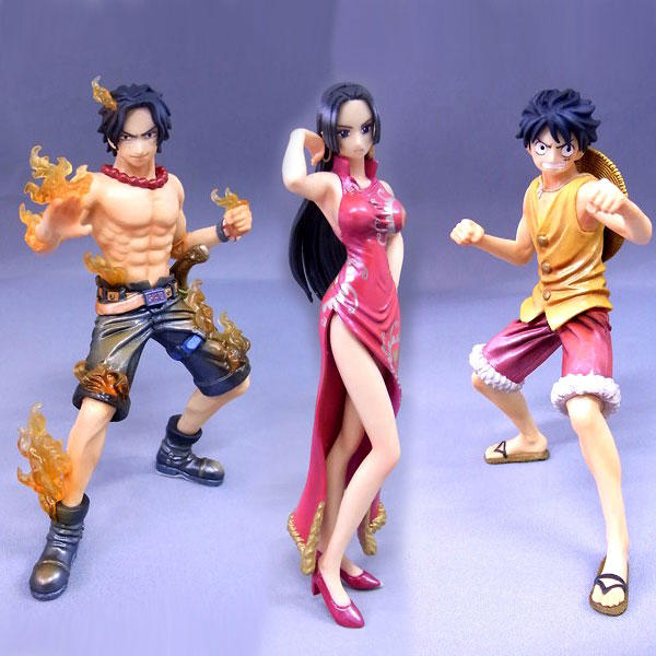 Lot De Figurines One Piece Super Styling Limited Edition