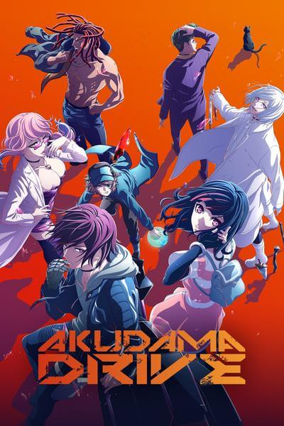 Watch Akudama Drive full episodes for free
