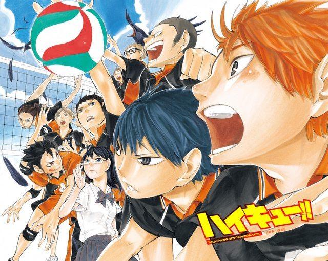 إعلان عن انمي  للمانجا كرة الطائرة الشهيرة High Kyuu!!