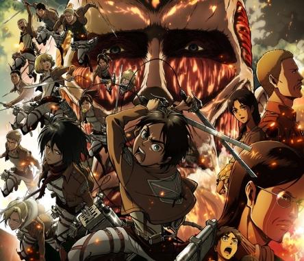 الكشف عن موعد الموسم الثاني للعمل Attack on Titan
