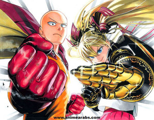 رسام One Punch Man