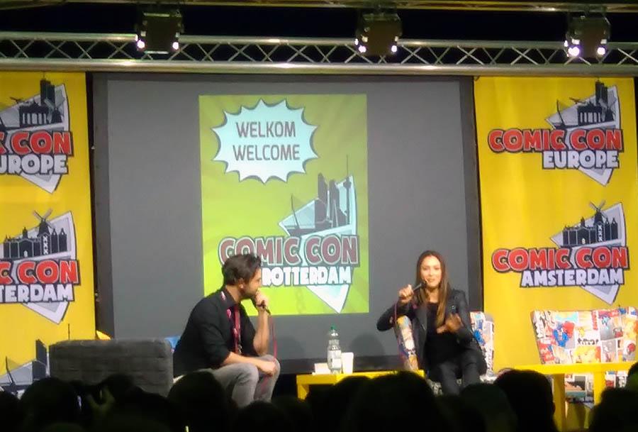 Comic Con Lindsey Morgan panel