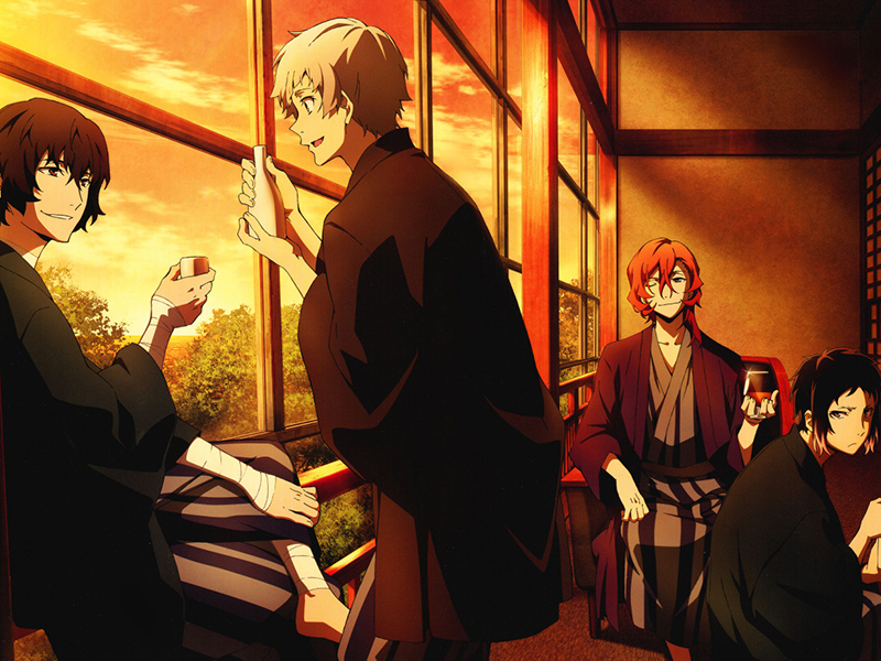 Bungou Stray Dogs anime review