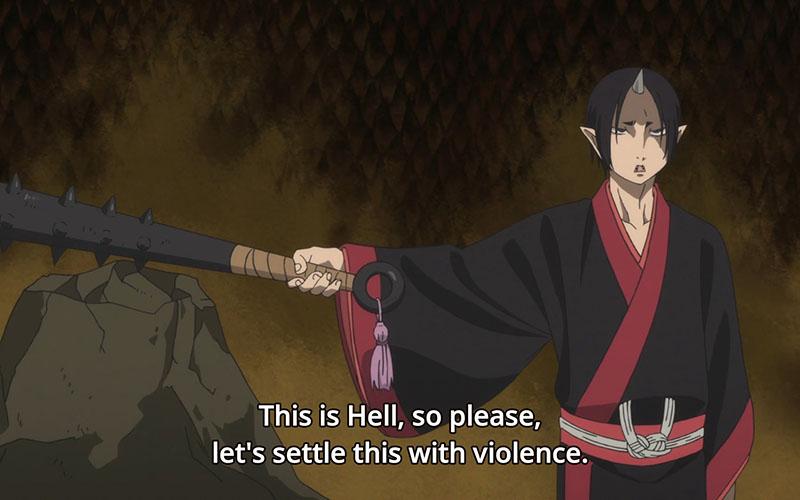 Halloween anime griezelen Hoozuki