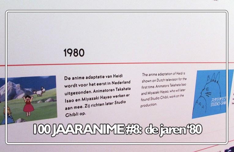 Anime in de jaren '80