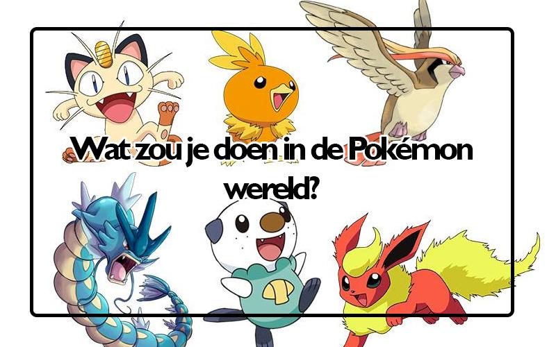 Yasumi & Silerna in de Pokémon wereld. Wat zou jij daar doen?