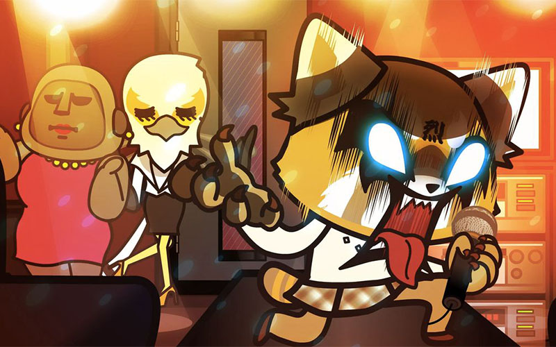 Aggretsuko Netflix anime review