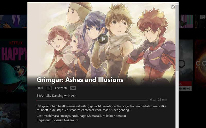Grimgar Ash and Illusions anime review Netflix