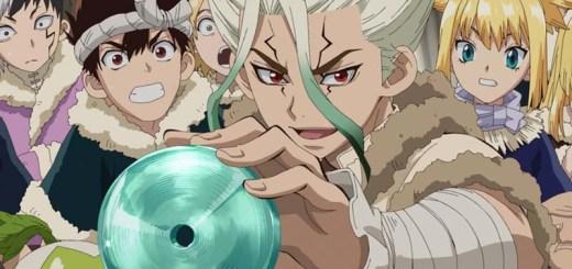 Dr Stone shounen anime over wetenschap