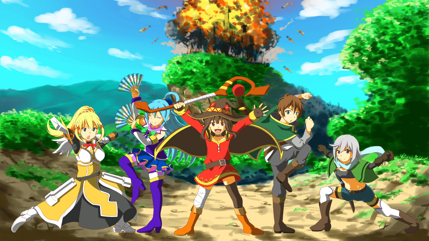KonoSuba BD Subtitle Indonesia Batch
