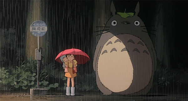 Image result for my neighbor totoro rain