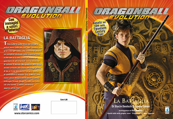 Dragon Ball Evolution romanzo 03 - cover