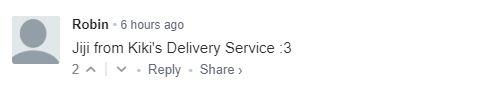 Jiji from Kiki's Delivery Service :3