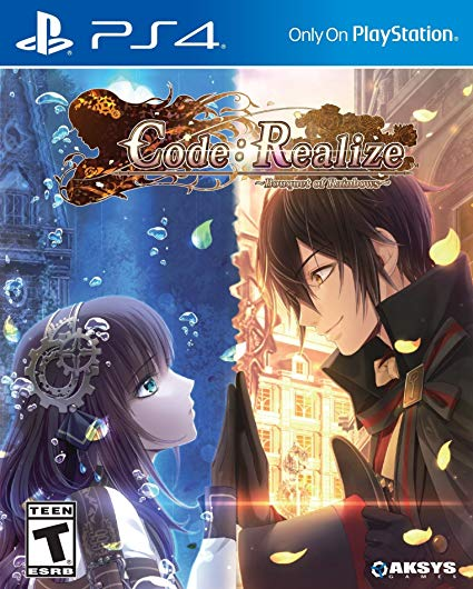 "Cover of the ""code:realize"" release on the Playstation 4"