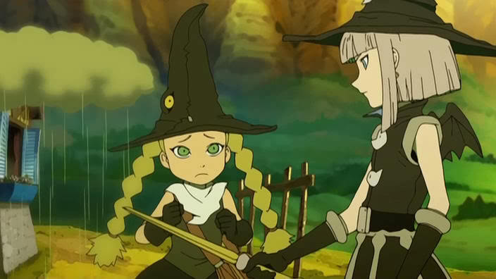 two main characters from Tweeny Witches