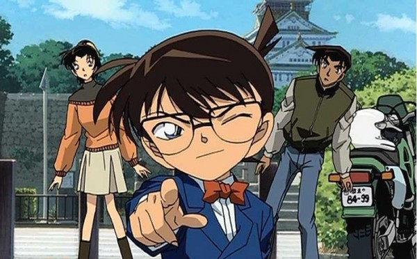 Image from Detective Conan of the lead character