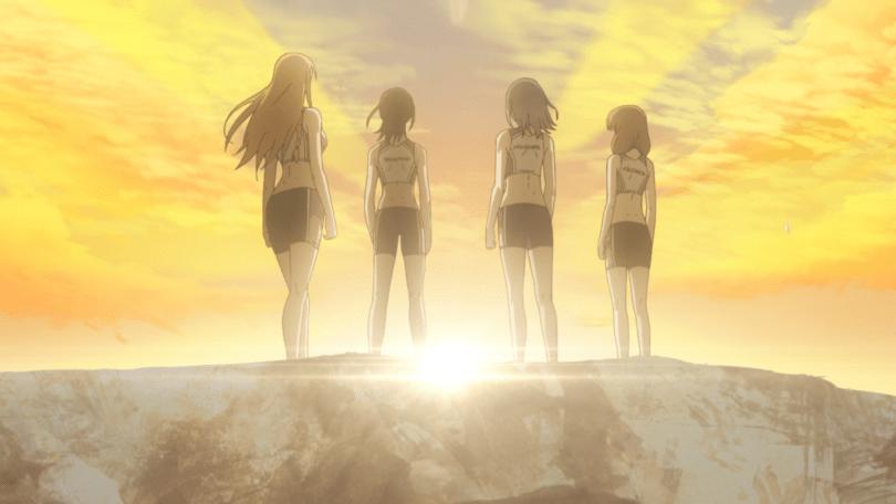 The girls of the Hanamiya Climbing Club!