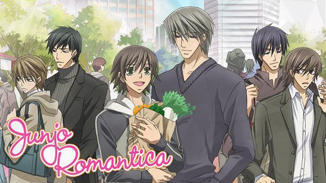 The entire Junjou Romantica cast
