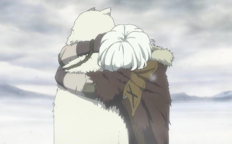 The boy hugging fake Joaan.