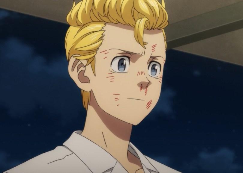 Takemichi going to Hinata's apartment