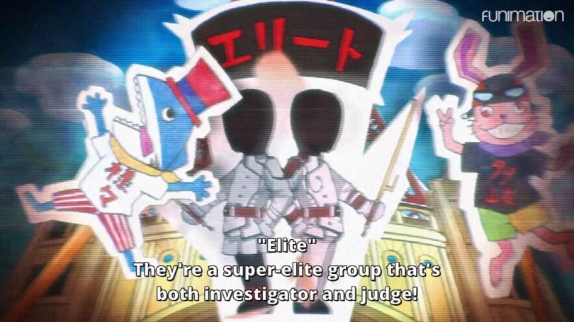 Propaganda TV description of Executioners. Subtitle: They're a super-elite groupe that's both investigator and judge!