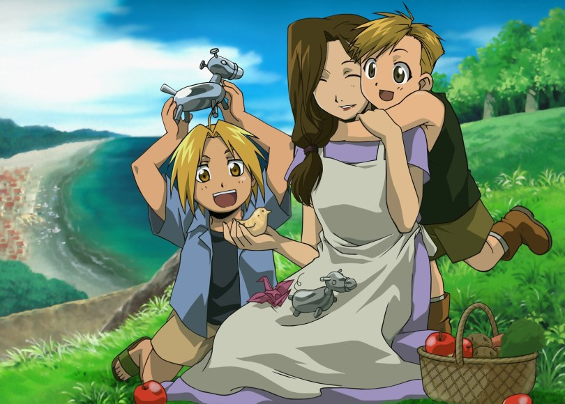 FMA's Trisha playing with her two sons at a picnic