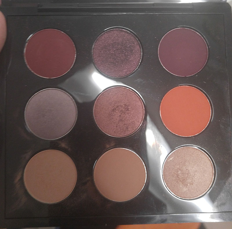 MAC shadow palette