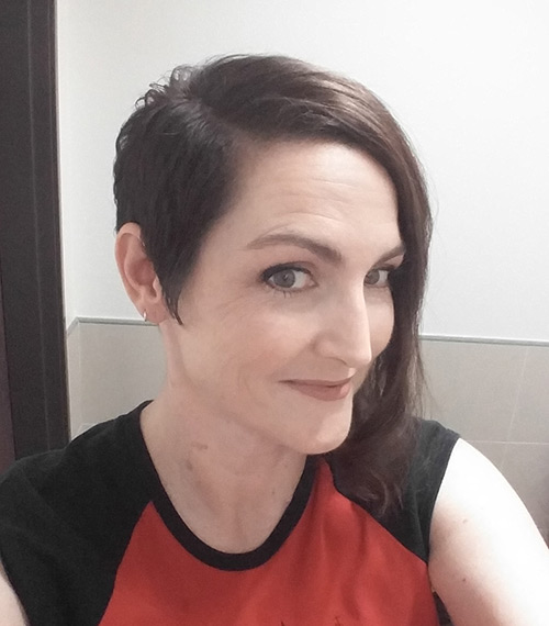 second hair cut