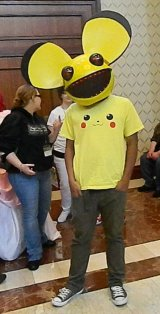 Anime Boston 2013 - Cosplay - Deadmau5 001
