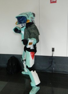 Anime Boston 2013 - Cosplay - FLCL 001