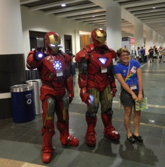 Anime Boston 2013 - Cosplay - Iron Man 001